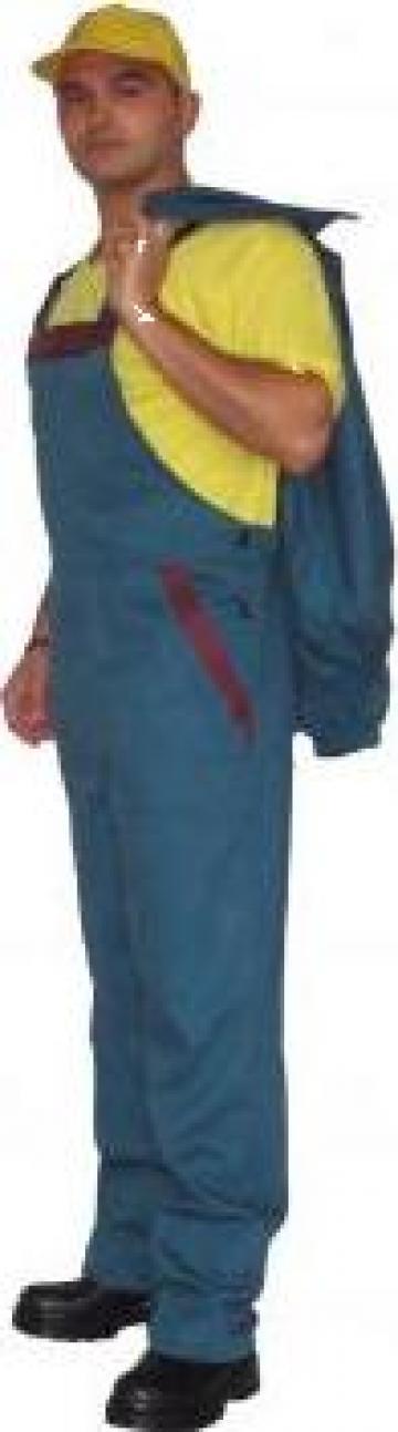 Pantalon cu pieptar de la R.c. Krasimod Srl