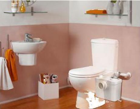 Scaun toaleta Sanipompa Sanitop Silence de la Sfa Saniflo Srl