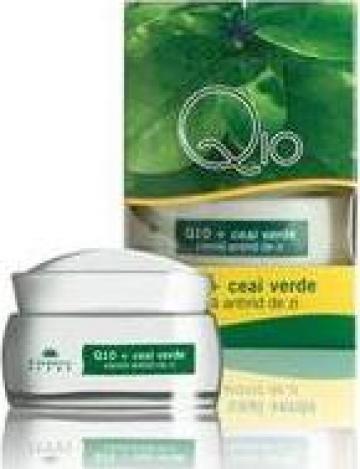 Crema antirid de zi pe baza de Q10 si ceai verde de la Cosmetic Plant Prodcom S.r.l.