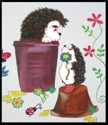 Picturi murale pentru copii