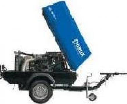 Compresor De Aer Mobil Cu Snec 3,6 mc/min
