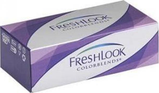 Lentile de contact (doua) Freshlook ColorBlends de la Drlentila.ro
