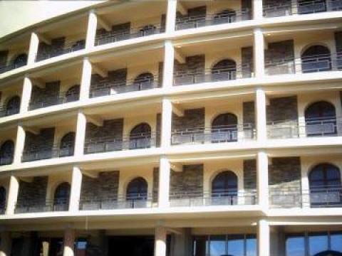 Balustrada exterioara cu policarbonat de la Alexdor Impex Srl