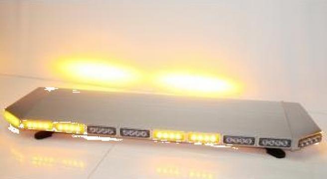 Girofar auto rampa luminoasa extraplata cu LED de la Flashalarm Electric