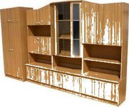 Mobila biblioteca Oskar de la Sc Frumusete& Comfort Srl