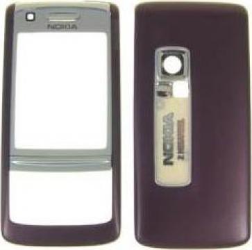 Carcasa originala telefon mobil Nokia 6280 negru purple de la L& A Media Market Srl