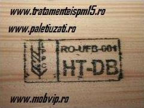 Tratament ISPM15 for wood materials