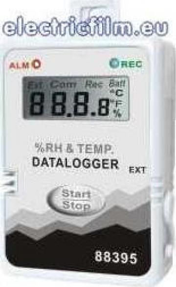 Inregistrator temperatura si umiditate