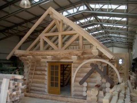 Tamplarie lemn stratificat cu geam termopan de la Dialex Impex Srl