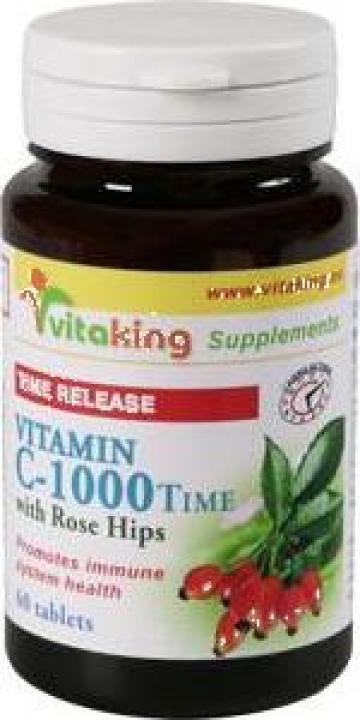 Vitamina C1000 cu absorbtie indelungata de la Vitaminking Srl