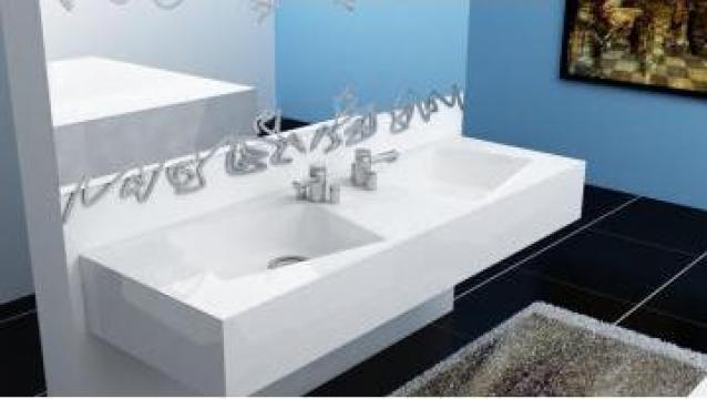Lavoar dublu MILANO de la Valdez & Nielsen Design Srl