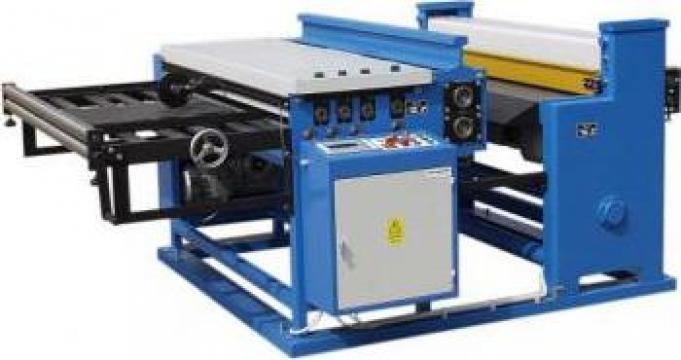 Linii automatizate pentru fisiat si taiat table din rulou