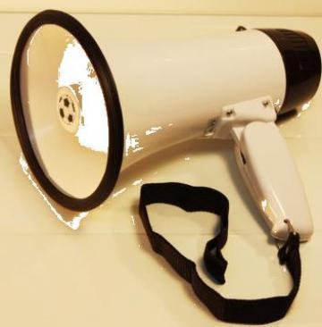 Portavoce (megafon) pentru comunicare