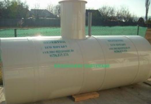 Rezervor subteran de 5000 litri apa potabila de la Eco Rotary SRL