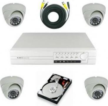 Kit sistem de supraveghere video de la Smart Security Tech Srl