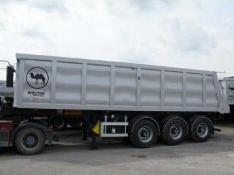 Semiremorca basculabila otel Wielton NW 24 SBK de la Sc Inter Cargo Grup Srl