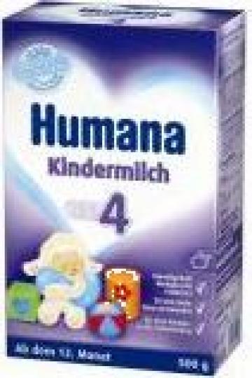 Lapte praf Humana 4 Junior