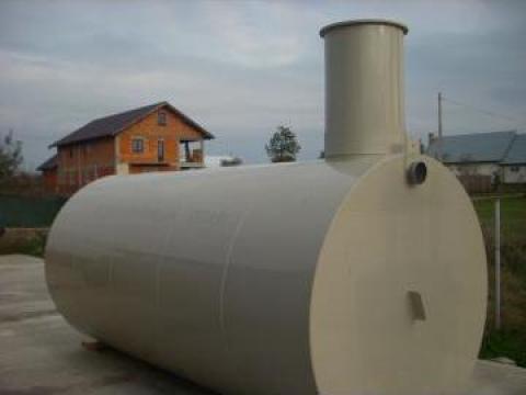 Rezervor polipropilena 2000 litri subteran