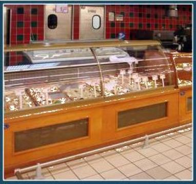 Vitrina Minimarket pentru mezeluri, carne si branzeturi de la Sc Romcooling Pro Srl