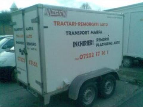 Inchiriere remorci auto 1700kg Timisoara de la Trolii-auto.ro