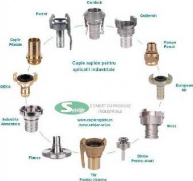 Cuple rapide pentru aplicatii industriale de la Seldor Srl