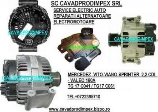 Alternator Mercedes Vitio/Sprinter/Viano 2,2 CDI-Valeo 180A