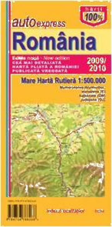 Harta Rutiera A Romaniei Bucuresti Agc Busman Id 398507