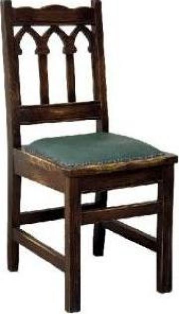 Scaun rustic din lemn de la Uv Furniture Sa