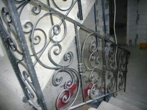 Balustrada fier forjat de interior de la Sc Grimet Construct Srl