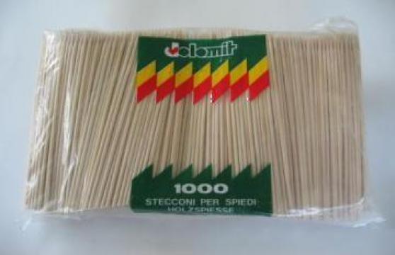 Betisoare din bambus pentru frigarui - 20 cm