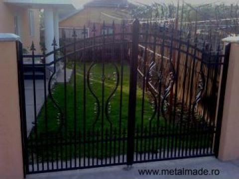 Poarta si gard de la Metalmade Art Srl