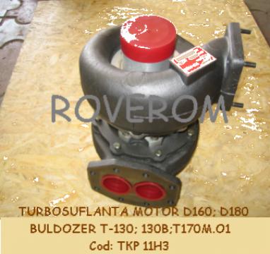Turbosuflanta buldozer T-130;B-10 (motor D160; D180 (Rusia))
