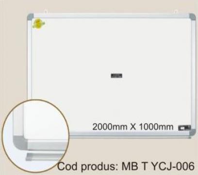 Tabla magnetica alba 200*100 cm (Whiteboard) de la Eurodidactica Srl