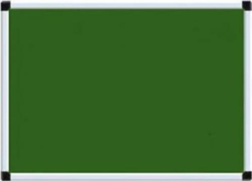 Tabla scolara magnetica pentru creta (verde) 12*12 de la Eurodidactica Srl