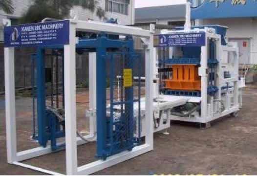 Utilaj linie automata de productie boltari, borduri, pavele de la Tcmconstruct