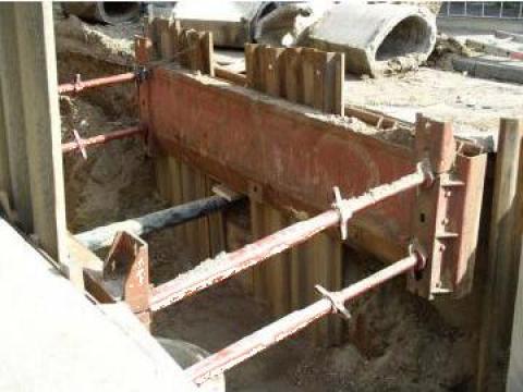 Palplanse metalice sprijin excavare-sapaturi-santuri de la Blackbull Com Ro