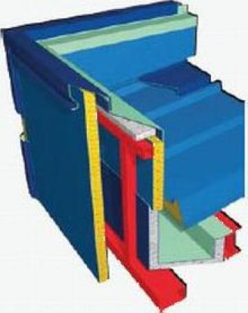 Jgheab interior termo-hidroizolat de la Dari Gratings