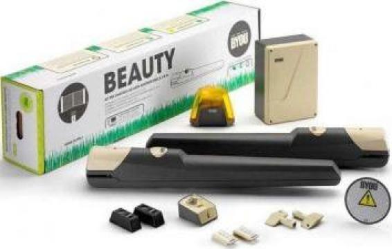 Kit automatizare pentru porti batante Beauty de la Prosystem Srl