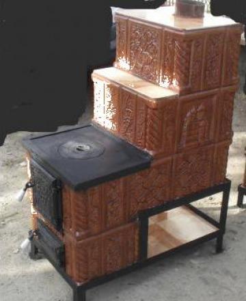 Soba premonta de teracota cu plita si firida corbi for Dedeman sobe teracota cu plita