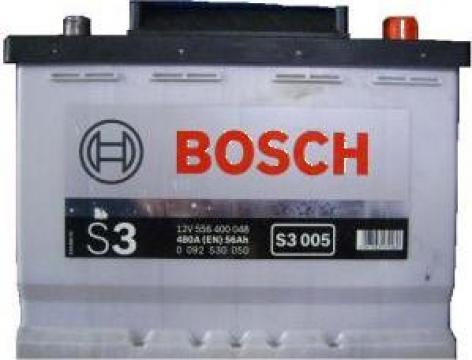 Bateri auto BOSCH, Acumulator Bosch S3 56Ah / 480A 242x175x de la Vladrag Auto Srl