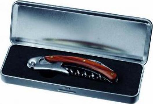Tirbuson in cutie metalica