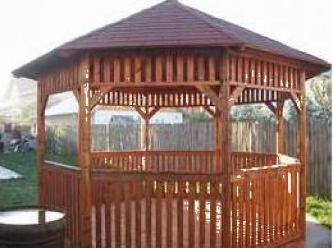 Foisoare din lemn, pergole, mobilier de gradina de la Eediplast