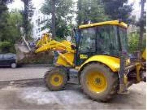 Inchiriere Buldoexcavator camion autobasculanta Bobcat de la A&C Construct 2001 Srl