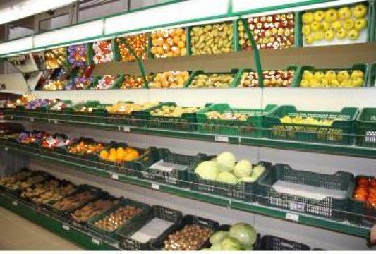 Rafturi legume fructe de la Marlex Impex Srl