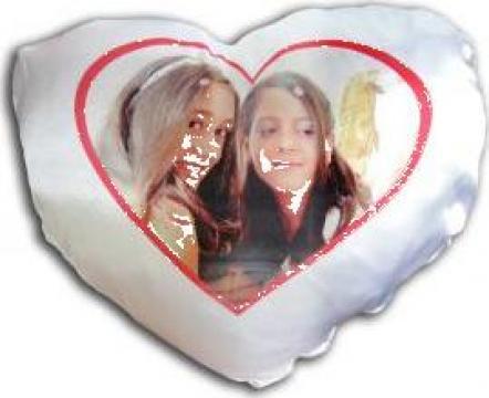 Perna inima personalizata - ideala cadou