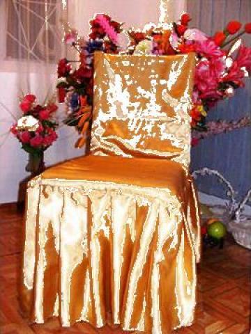 Husa scaun cu pliuri pe forma scaunului de la Johnny Srl.
