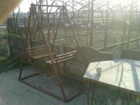 Balansoar de gradina din fier de la Geomar Srl