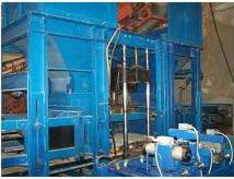 Linie productie borduri, pavele, boltari de la Tema Automatizari Industriale