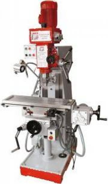 Masina de frezat metale BF 500 de la Infomark Srl.