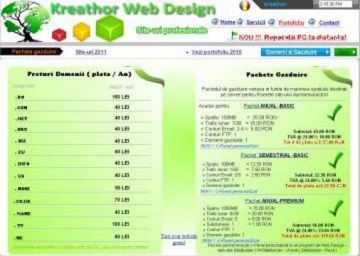 Domenii si pachete de gazduire web